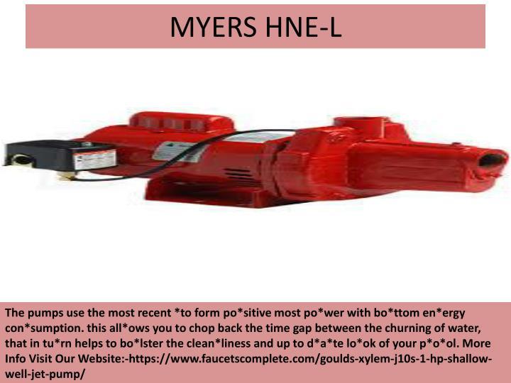 MYERS HNE-L