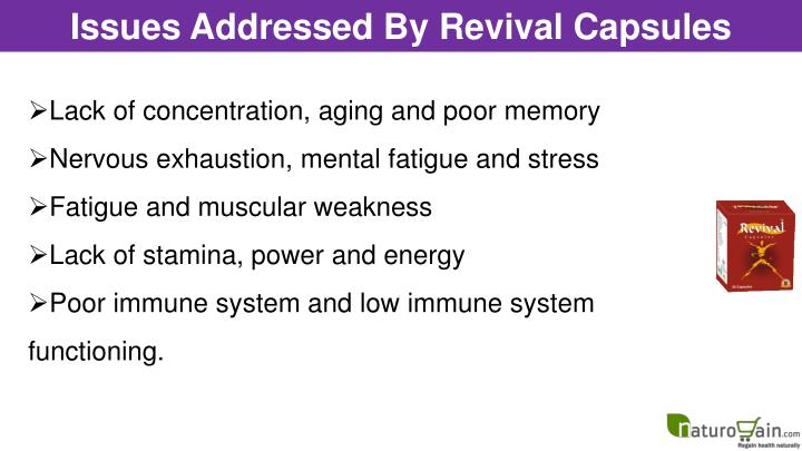 Issues Addressed By Revival