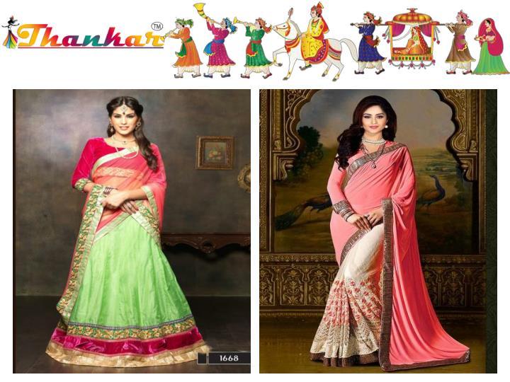 Wedding festival designer bridal lehenga choli and saree online shopping