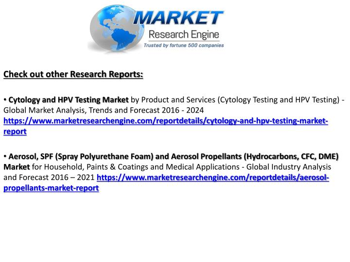Check out other Research Reports: