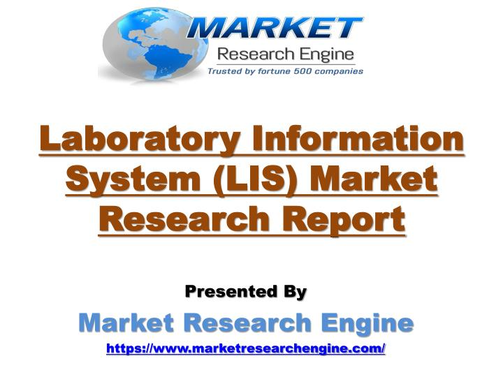 Laboratory information system lis market research report