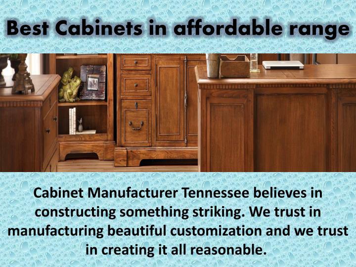 Best Cabinets in affordable range