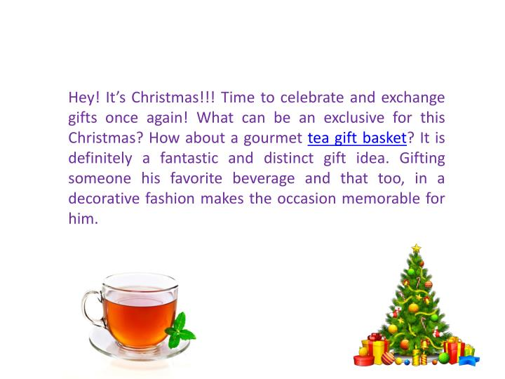 Hey! It's Christmas!!! Time to celebrate and exchange gifts once again! What can be an exclusive f...