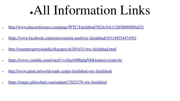 All Information Links