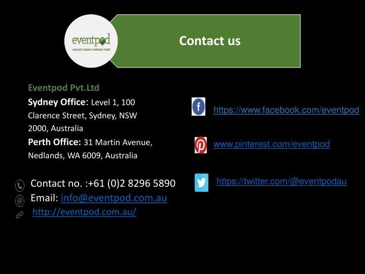 Eventpod Pvt.Ltd