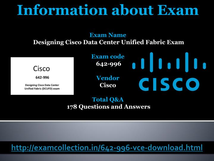 Information about Exam