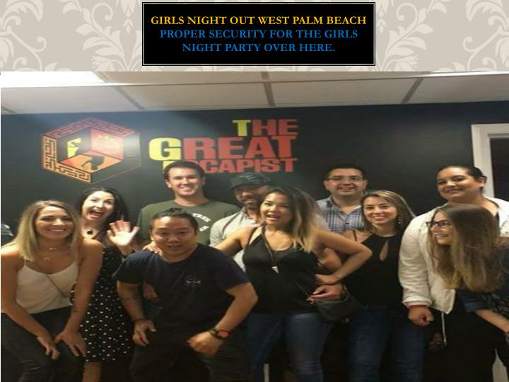 girls night out west palm beach