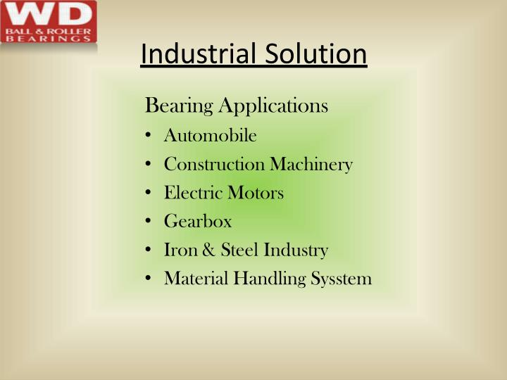 Industrial Solution