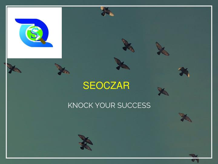 knock your success n.