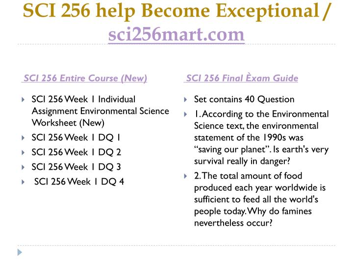 Sci 256 help become exceptional sci256mart com1