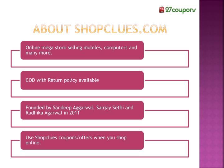 About shopclues.com