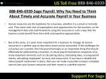 888 846 6939 sage payroll why you need to think about timely and accurate payroll in your business