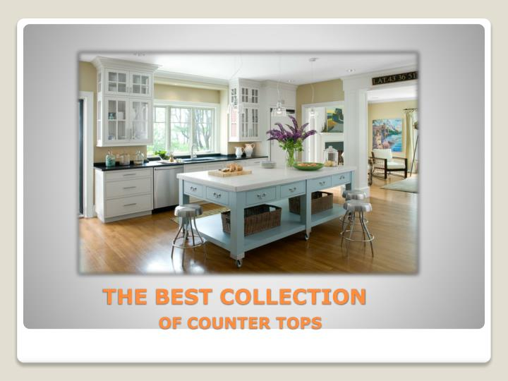The best collection of counter tops