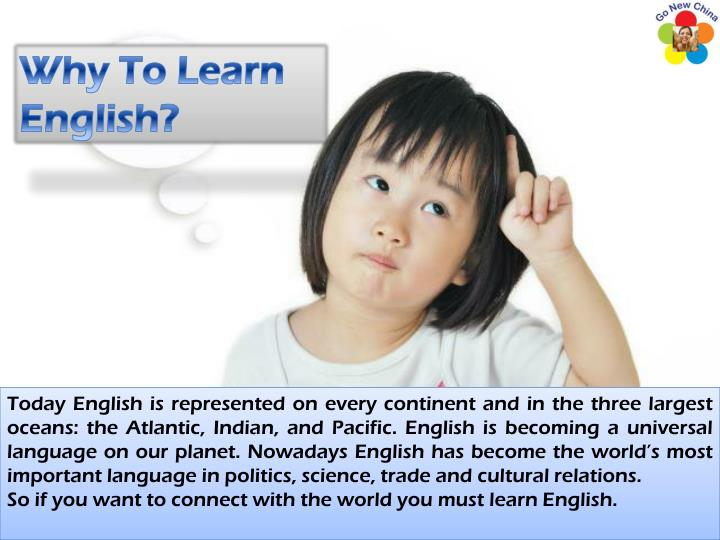 Why To Learn