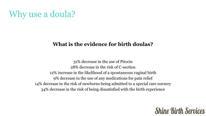 Why use a doula?