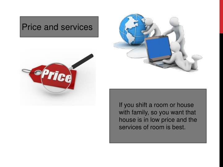 Price and services