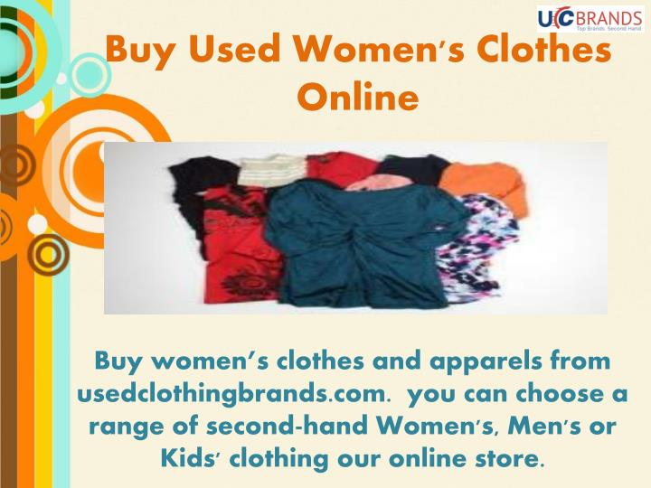 Buy Used Women's Clothes Online