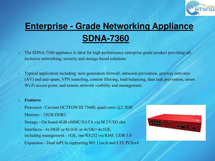 Enterprise - Grade Networking Appliance
