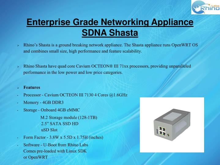 Enterprise Grade Networking Appliance