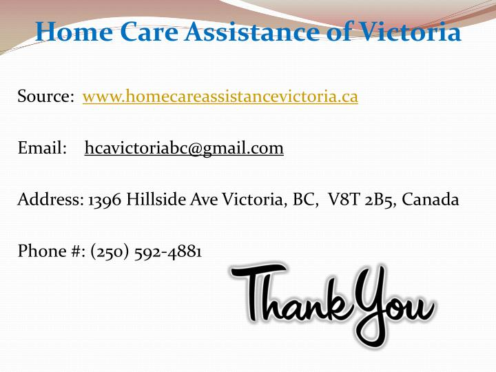 Home Care Assistance of Victoria