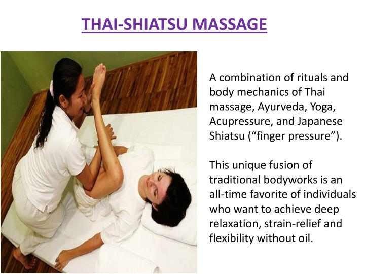 THAI-SHIATSU MASSAGE