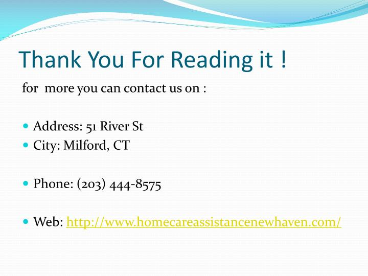 Thank You For Reading it !