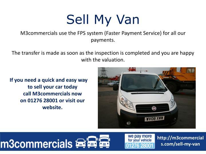 Sell my van1