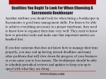 qualities you ought to look for when choosing a sacramento bookkeeper4
