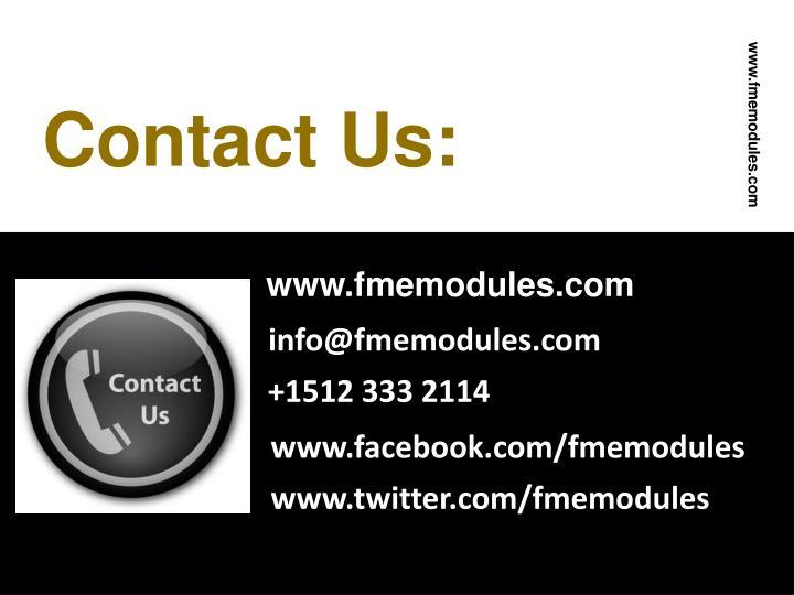 www.fmemodules.com