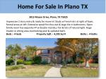 home for sale in plano tx