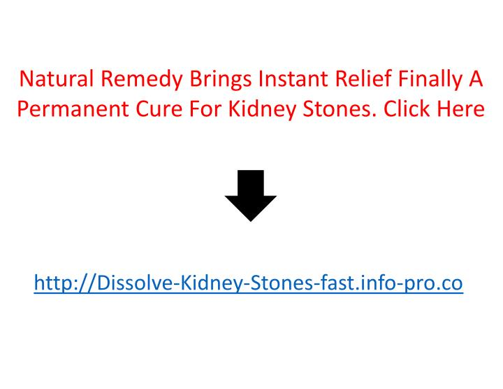 Natural Remedy Brings Instant Relief Finally A