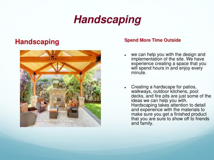 Handscaping