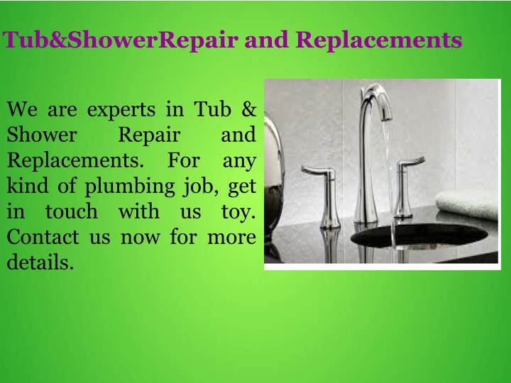 Tub&ShowerRepair and Replacements