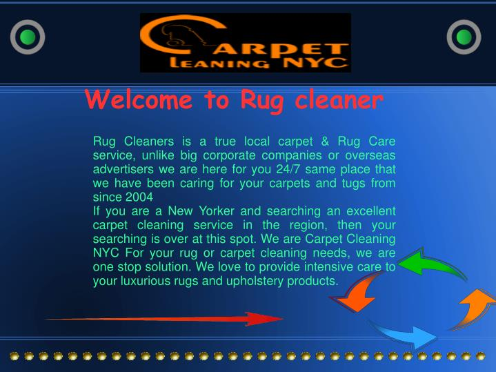 Welcome to Rug cleaner