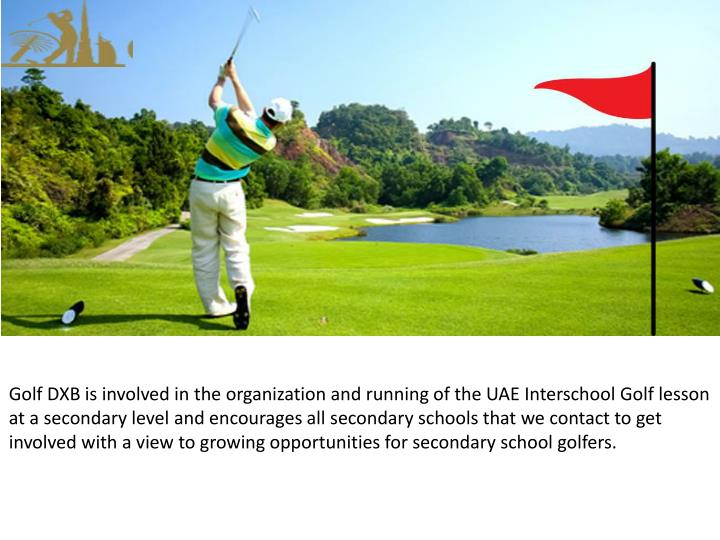 Golf DXB is involved in the