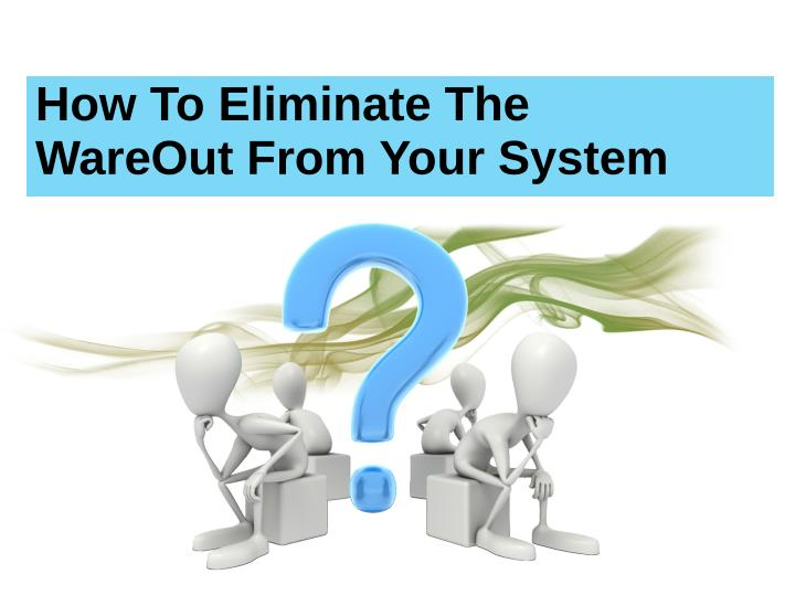 How To Eliminate The