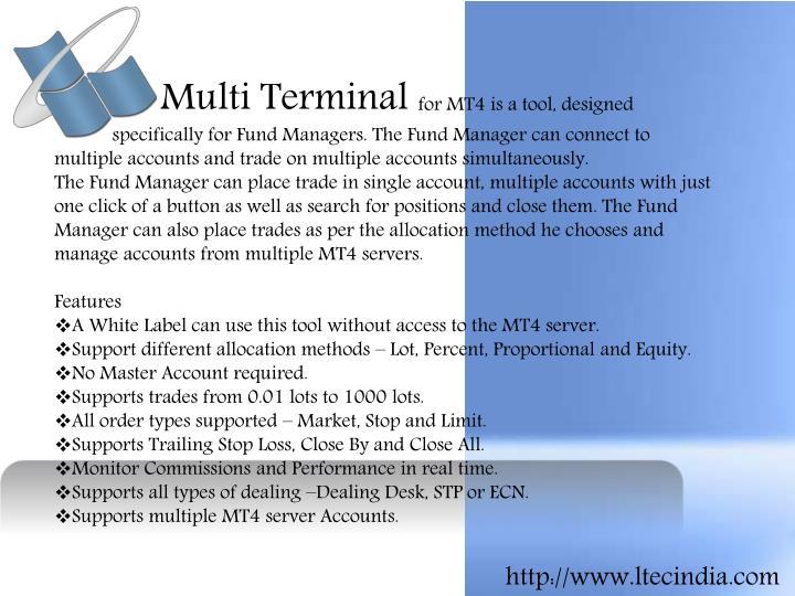 Multi Terminal