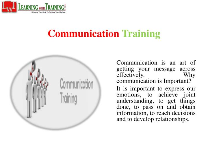 why communication is important Effective communication helps drive desired and required changes in your organization learn how to effectively communicate change.