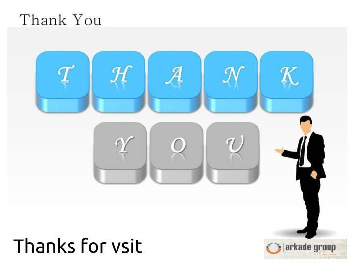 Thanks for vsit