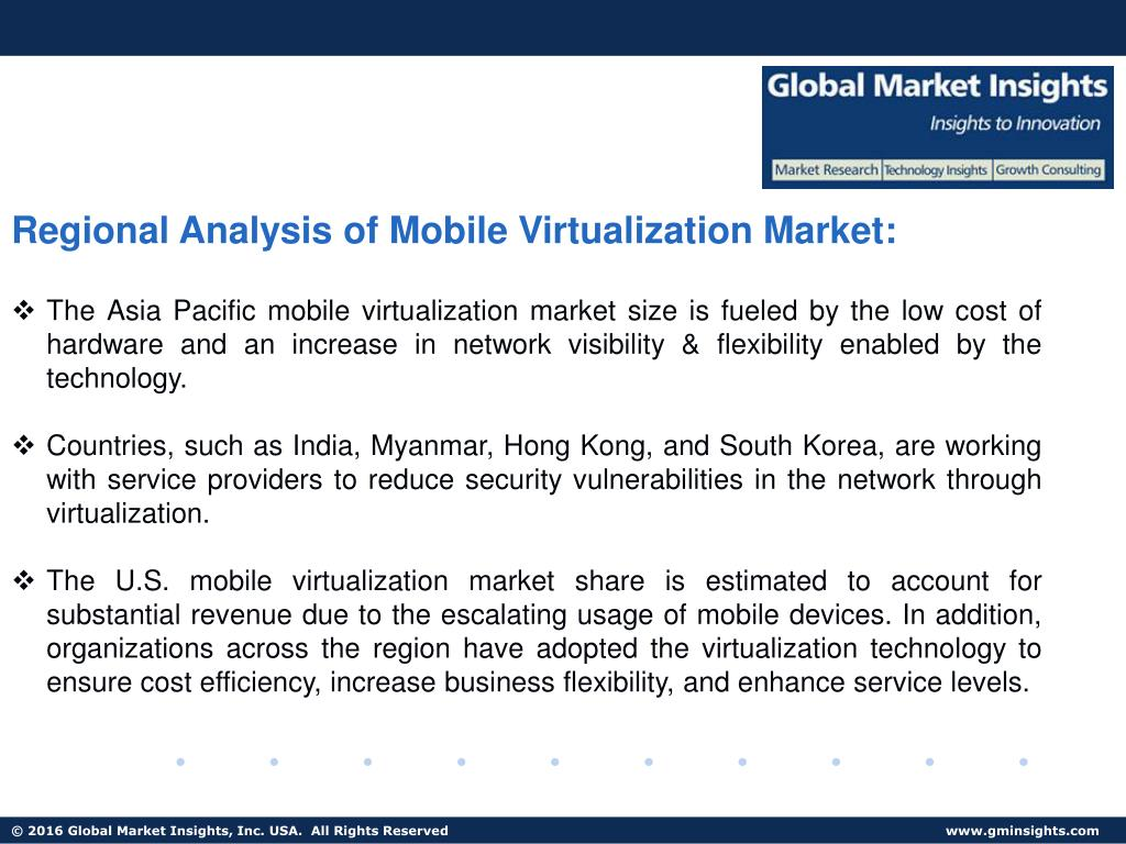 PPT - Mobile Virtualization Market size to grow at over 20