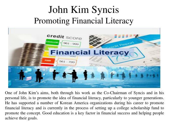 John Kim Syncis