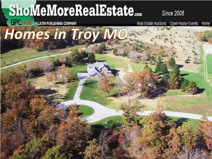 Homes in Troy MO