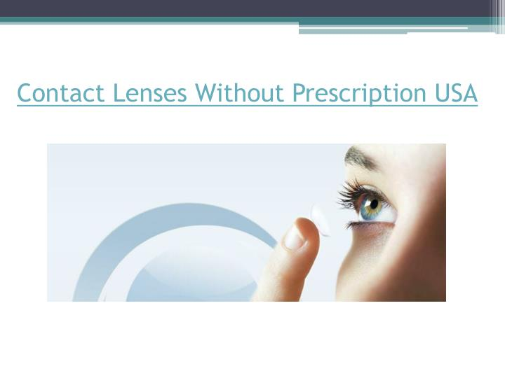 Contact lenses without prescription usa