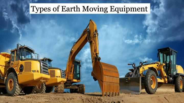 Types of Earth Moving