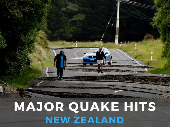 Significant tremor hits new zealand