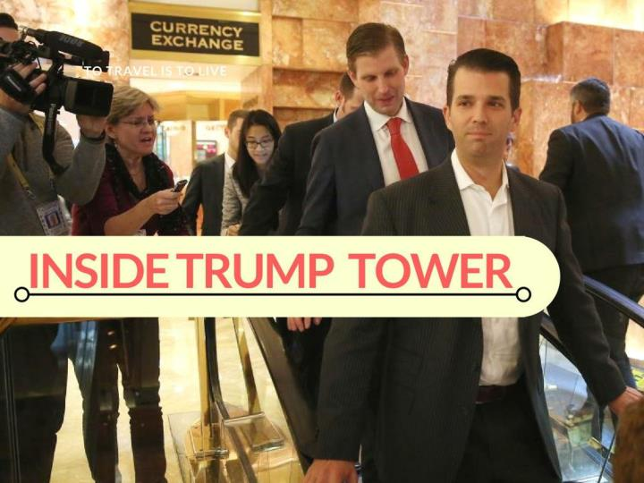 inside trump tower n.