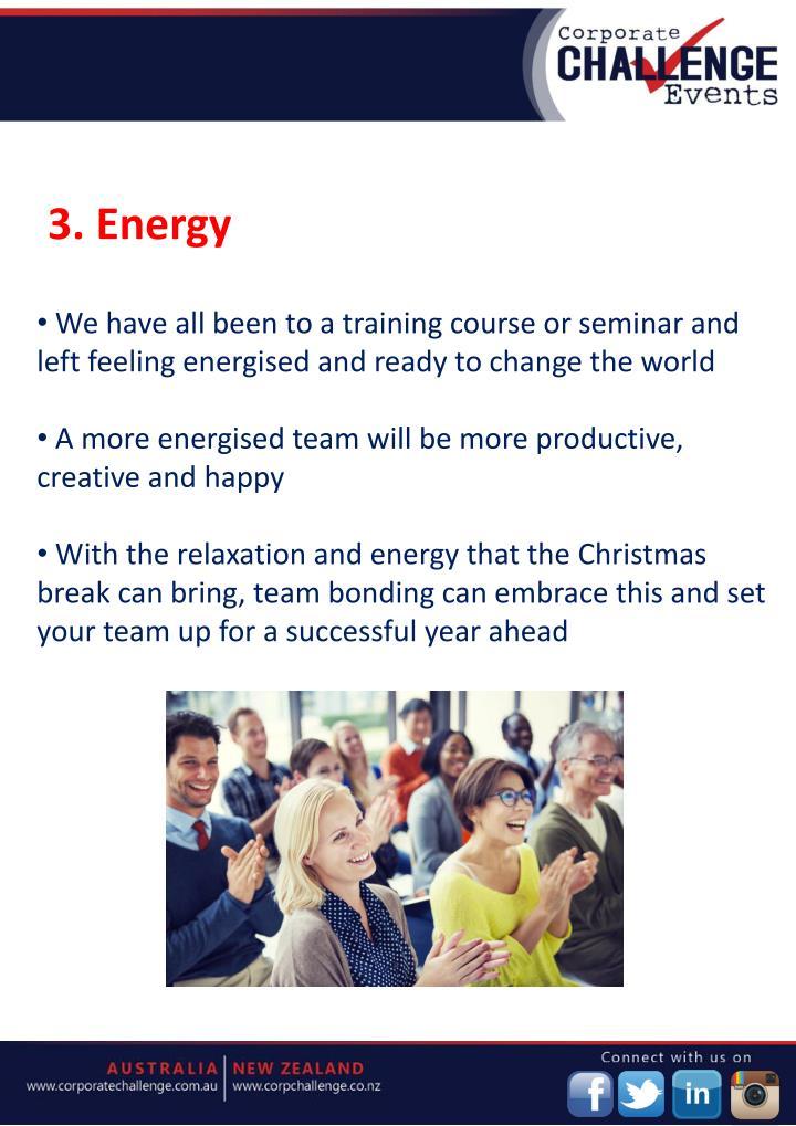 3. Energy