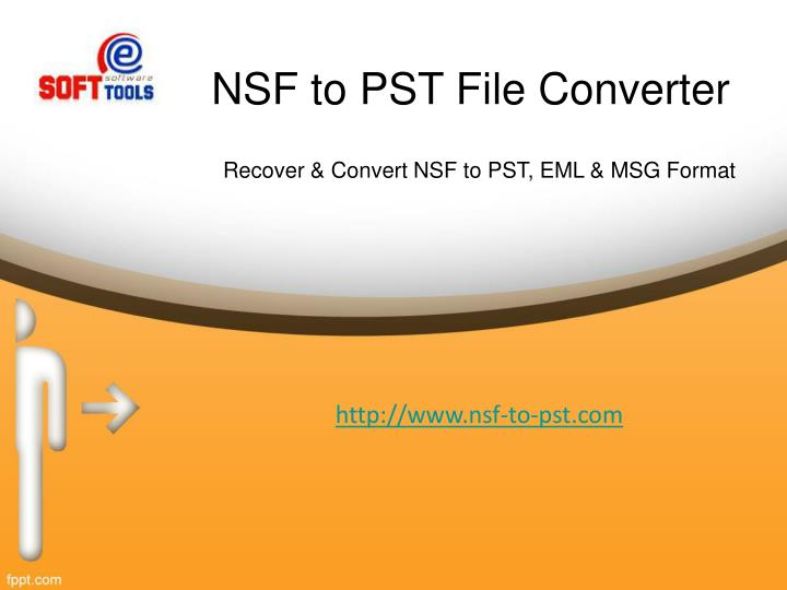 nsf to pst file converter