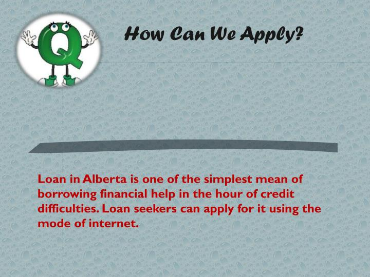 How Can We Apply?