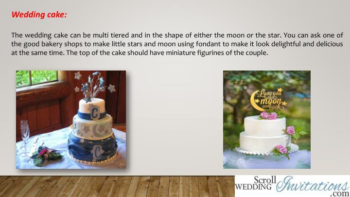 Wedding cake:
